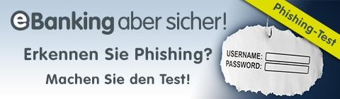 Phishing Ebanking Aber Sicher