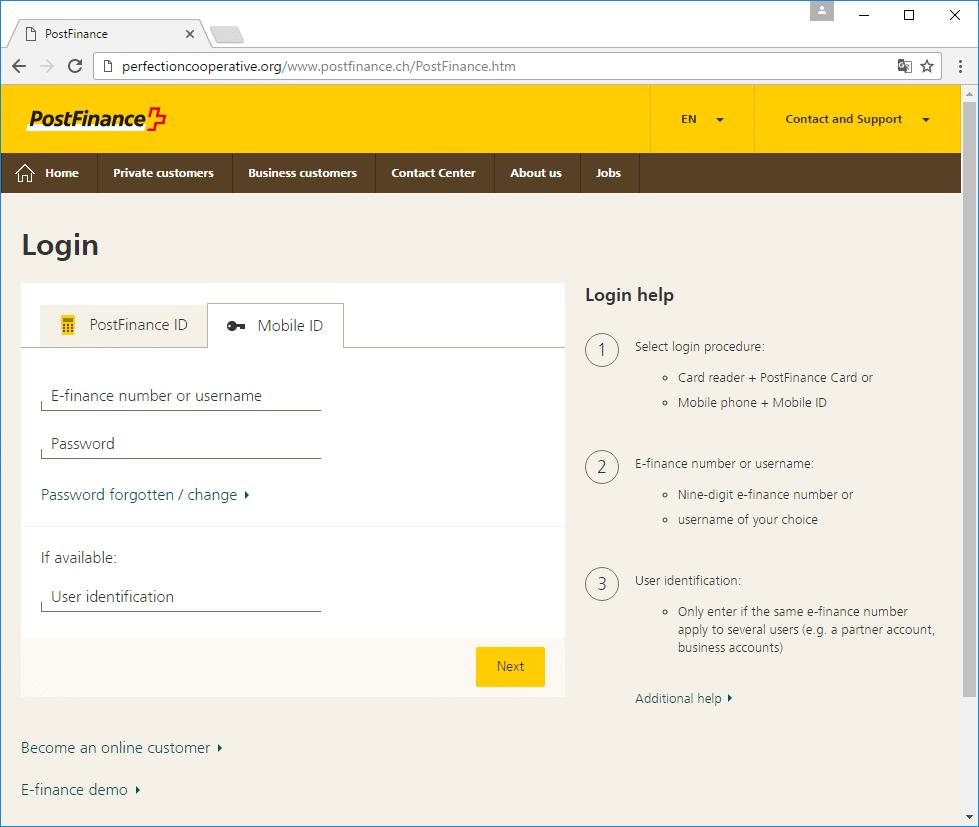 Screenshot Frage 2